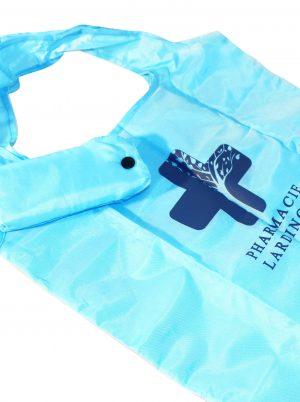 sacs réutilisables polyester repliables