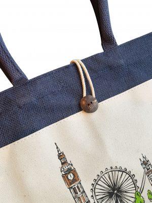 sacs réutilisables toile de jute